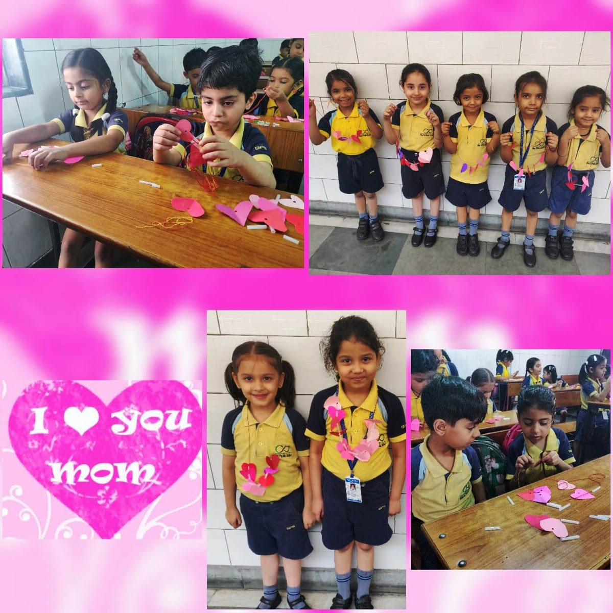 Mother's day Class 1 Activity